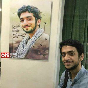 عکس پسری که شهبیه شهید حججی است