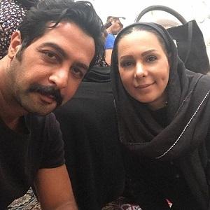 عکس کامران تفتی و بهار ارجمند