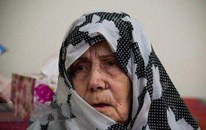 مادر شهید حسن جنگجو