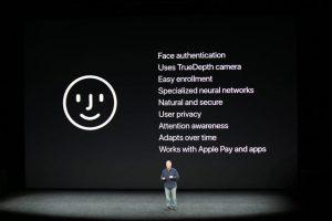 مشخصات تکنولوژی فیس آیدی در آیفون X