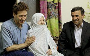 ملاقات احمدی نژاد از ابوالفضل پورعرب