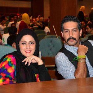 کامران تفتی و همسر معرفی شده در رسانه ها!