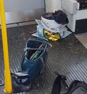 تصاویر انفجار مترو در غرب لندن