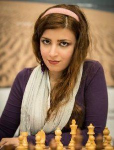 عکس درسا درخشانی استاد بزرگ شطرنج ایران