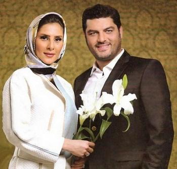 سام درخشانی و همسرش عسل امیرپور + عکس