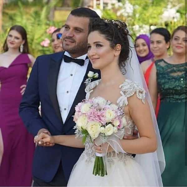 عکس های عروسی گوکچه آکیلدیز و همسرش