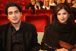 عکس همایون شجریان و همسرش