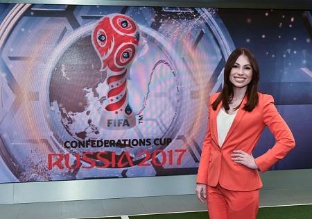 بیوگرافی ماریا کوماندنیا + مجری مراسم قرعه کشی جام جهانی روسیه ۲۰۱۸