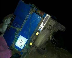 تصادف مرگبار ابوبکر معروفی راننده بوکانی