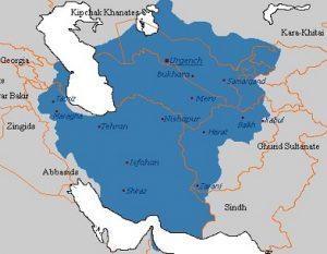 سرزمین ایران در زمان خوارزمشاهیان