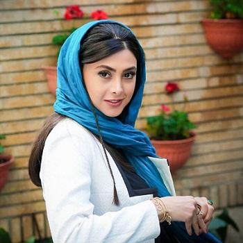 عکس آزاده صمدی، همسر اول هومن سیدی