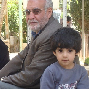 عکس امیر کیان عبدی و پدر بزرگش