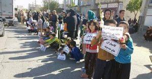 عکس حضور گسترده مردم جوانرود در تشییع جنازه ابوبکر معروفی