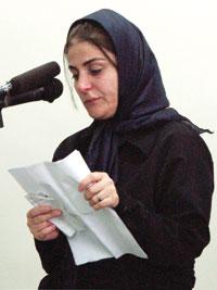 عکس شهلا جاهد همسر دوم ناصر محمدخانی