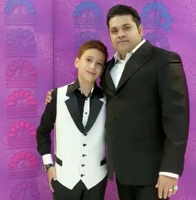 عکس و بیوگرافیغلامرضا صنعتگر و همسرش