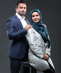 عکس و بیوگرافی نجمه جودکی و همسرش
