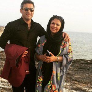 عکس پدر و مادر امیر رضا عابدزاده