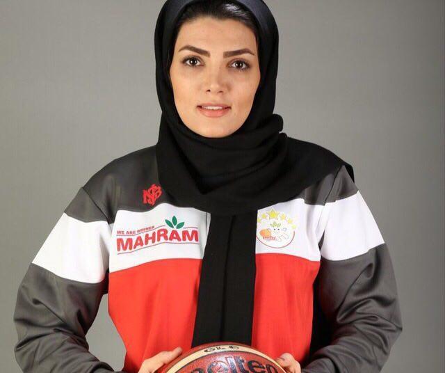 بیوگرافی نعیمه ظفر اولین گزارشگر زن مسابقات بسکتبال صدا و سیما