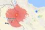 حلبچه عراق کجاست؟ - مرکز زمین لرزه ۷٫۲ ریشتری