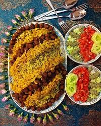 تهیهکلم پلوی شیرازی با گوشت قلقلی