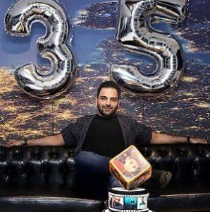 تولد ۳۵ سالگی احسان علیخانی