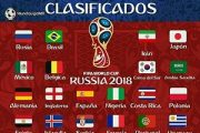 تیم های صعود کننده به جام جهانی روسیه