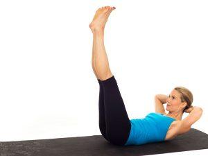 سه حرکت پیلاتس برای داشتن شکمی صاف - حرکت اول