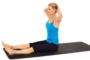 سه حرکت پیلاتس برای داشتن شکمی صاف - حرکت دوم