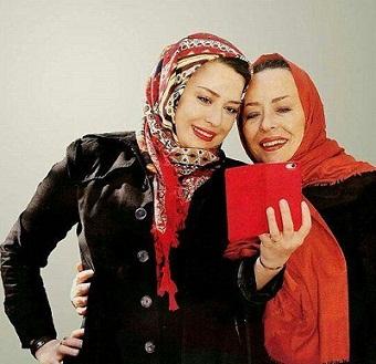 عکس آزیتا حاجیان و دخترش مهرواره