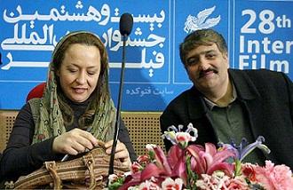 عکس آزیتا حاجیان و همسر دومش محمد کریمی هراتی