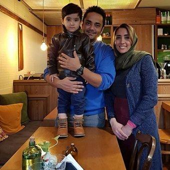 عکس برادر سپیده خداوردی و همسرش