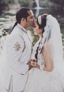 عکس حامد نیک پی و همسرش