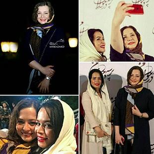 عکس دختران آزیتا حاجیان و همسرش شریفی نیا