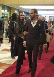 عکس علی رام نورایی و همسرش