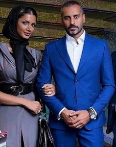 عکس علیرام نورایی و همسرش