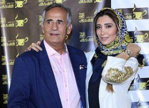 عکس مجید مظفری و دخترش
