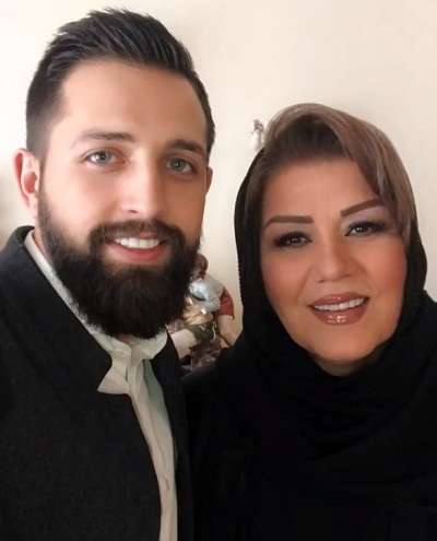عکس مادر همسر محسن افشانی