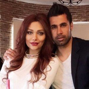 عکس محسن فروزان و همسرش