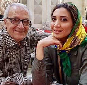 عکس نیکی مظفری و دایی اش