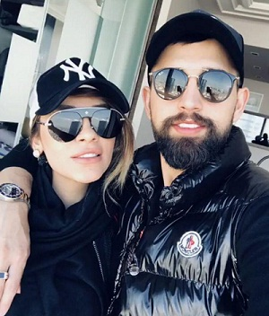 عکس های محسن افشانی و همسرش سویل