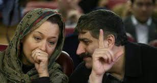 بیوگرافی آزیتا حاجیان و همسرش محمد کریمی هراتی