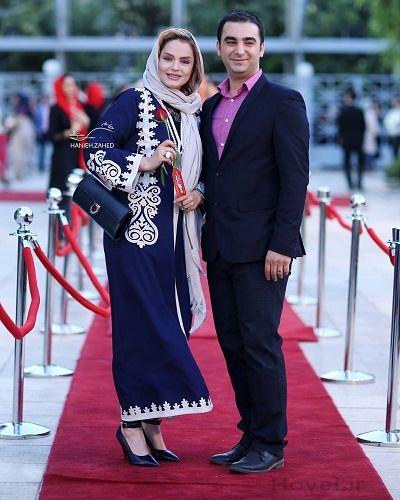 عکس و بیوگرافی سپیده خداوردی و همسرش