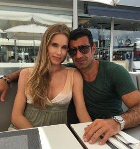 عکس و بیوگرافی لوییز فیگو و همسرش