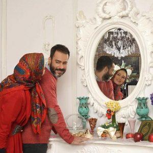 عکس و بیوگرافی نیما فلاح و همسرش سحر ولدبیگی