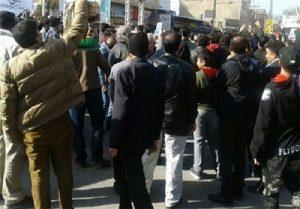 عکس تجمع مردم کرمانشاه