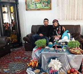 عکس علی هاشمی و مادرش