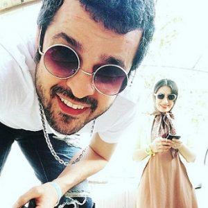 عکس و بیوگرافی مجتبی پیرزاده و همسرش