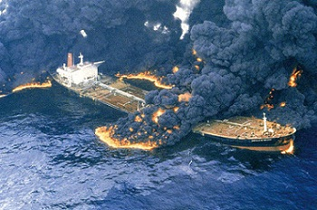 علت غرق شدن کشتی سانچی + فیلم