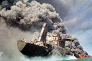 آیا کشتی سانچی مورد حمله امریکا قرار گرفته است؟