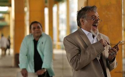خسرو شهراز بازیگر نقش کبیر در آنام